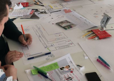 le Blic design thinking empathie parcours usagers personas PROTOTYPAGE