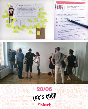 le Blic design thinking Smart coop